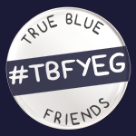 True Blue Friend YEG Logo