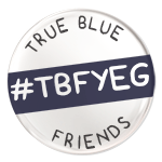 True Blue Friend YEG Mobile Logo